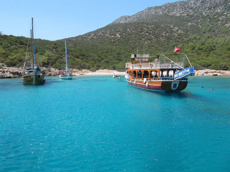 Sea Tour Around Olympos and Sunken City